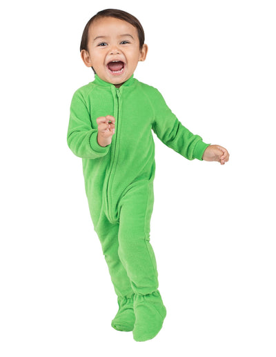 Emerald Green Infant Fleece Onesie