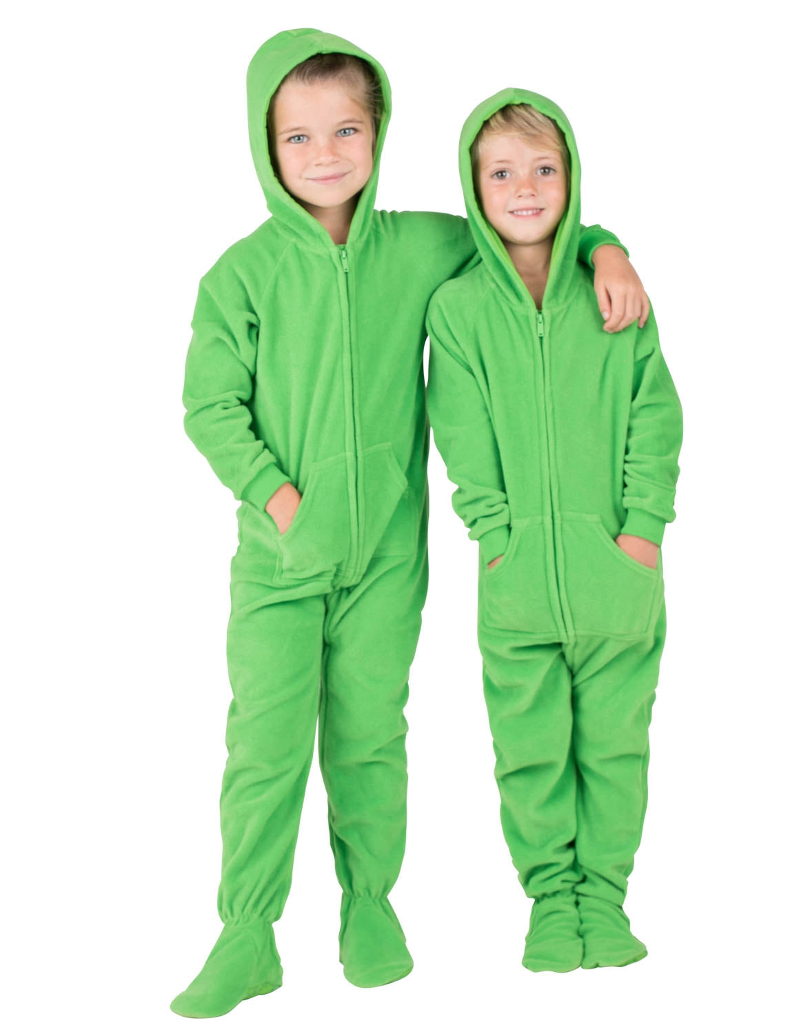 Emerald Green Toddler Hoodie Fleece Onesie