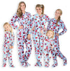 Family Matching Blue Cupcakes Fleece Onesie