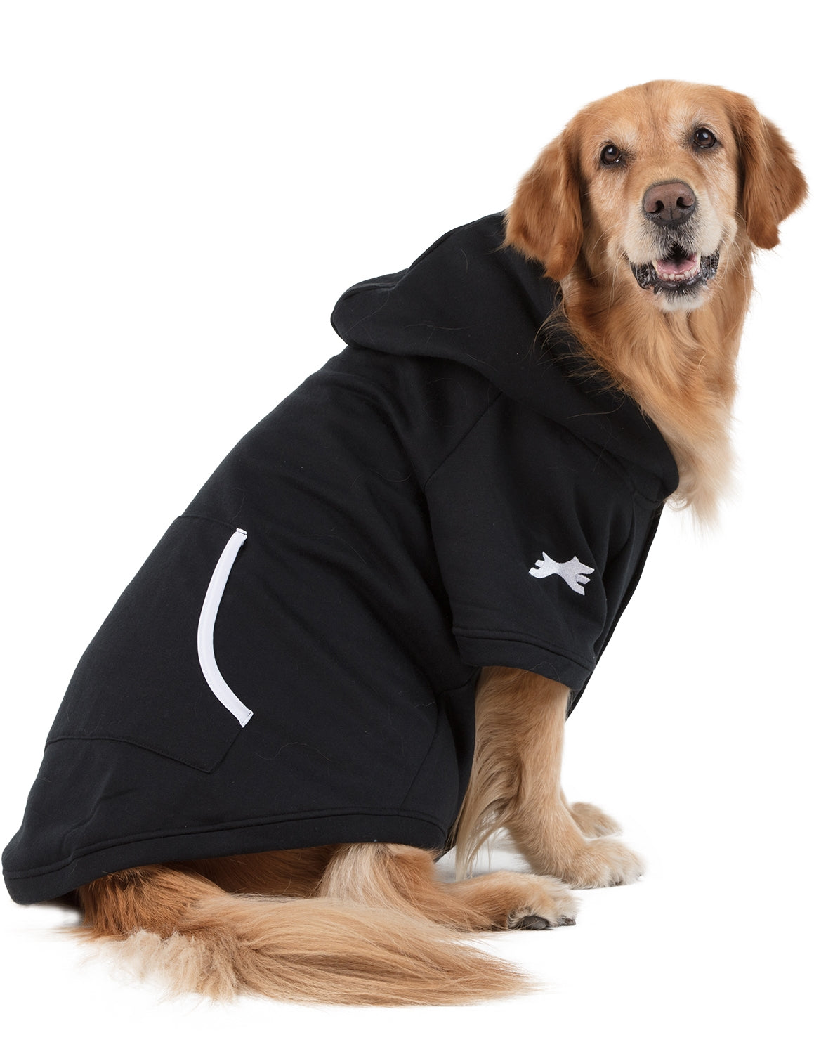 Black and White Pet Hoodie