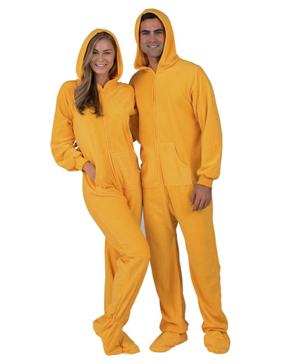 Creamsicle Adult Hoodie Fleece Onesie