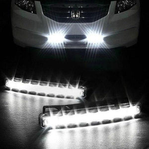 Automatic Wind Power 8 LED Car Light,One Set of 2 PCS - 60% OFF TODAY!