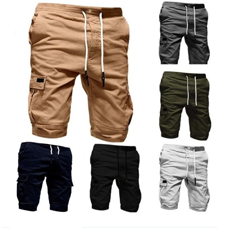 Men's Fashion Big Pocket Loose Shorts