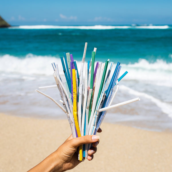 PLASTIC STRAWS BANNED IN ENGLAND FROM TODAY