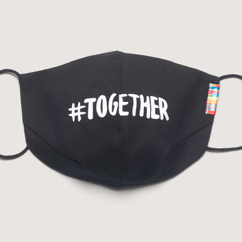 #TOGETHERMASK Black