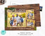 Rustic Trio Christmas Collage