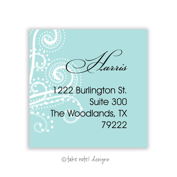 Celebration Address Label