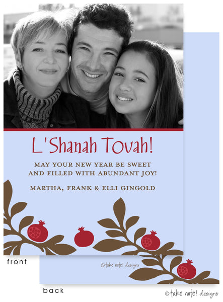 Jewish New Year cards