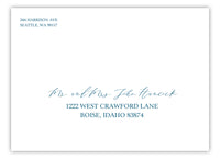 Recipient Address Printing