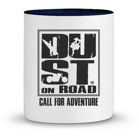 Mug en Céramique Bicolore - Dust on Road - DUST ON ROAD