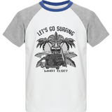 Tee-Shirt Enfant Baseball - Let's go surfing - Dust On Road - DUST ON ROAD
