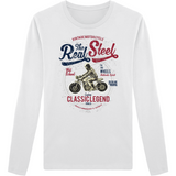 Tee Shirt Homme Col Rond Manches Longues - Classic Legend - Dust On Road - DUST ON ROAD
