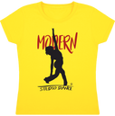 Tee Shirt Fille Col Rond Manches Courtes - Modern Jazz pour Studio Danse FINAL - DUST ON ROAD