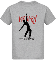 Tee Shirt Garçon Modern Jazz pour Studio Danse - FINAL - DUST ON ROAD