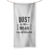 MOTORCYCLE ADVENTURE - Serviette de Bain - DUST ON ROAD