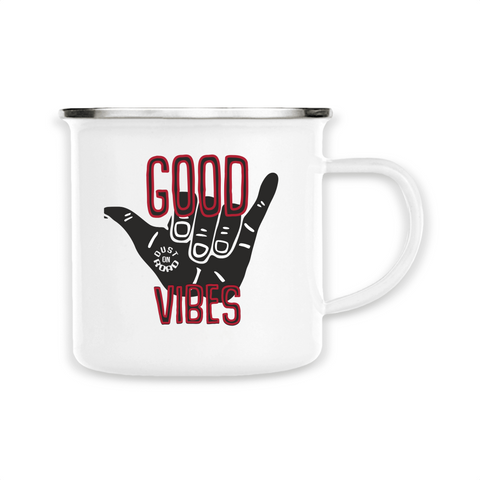 "Mug "" Good Vibes"" Dust On Road - DUST ON ROAD"