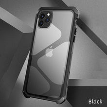 Load image into Gallery viewer, Apple iPhone Metal Glass Case Cover - yhsmall