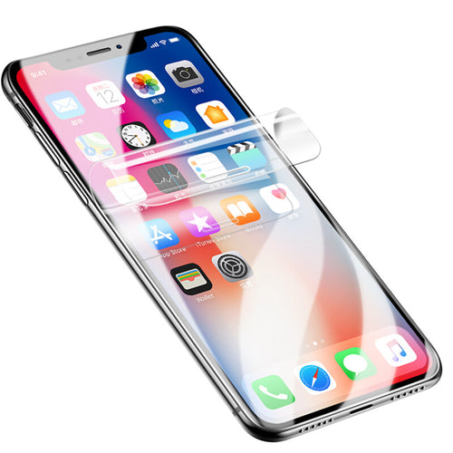 iPhone Screen Protector  Full Cover TPU Hydrogel  iPhone 11 Pro Max SE X XS XR XS Max 6 6S 7 8 Plus - yhsmall
