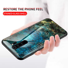 Load image into Gallery viewer, Redmi Note 8/8Pro Marble Pattern Tempered Glass Case Cover - yhsmall