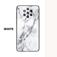 Load image into Gallery viewer, Nokia Marble Pattern Tempered Glass Hard Case Cover - yhsmall