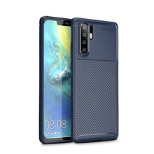 Load image into Gallery viewer, Huawei P30 P20 Pro Mate 20 Pro Nonskid Twill Pattern Soft TPU Shockproof Case Cover - yhsmall