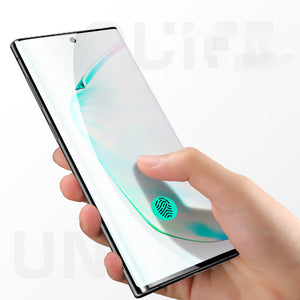 Samsung Galaxy Note10/Note10 Screen Film Full Coverage Curved Edge Tempered Glass Screen Protector - yhsmall