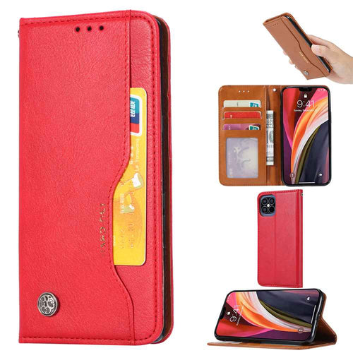 Apple iPhone Cases Classic Soft Leather Card Slot With Holder Stand Function Protective Cover for iPhone OnePlus