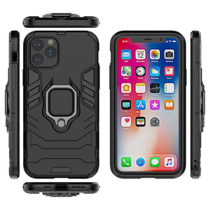Apple iPhone 12 Pro Max Cases Finger Holder Cover for iPhone 11 Pro Max X XS MAX XR 8 7 6S 6 Plus 5 5S SE 2020 - yhsmall
