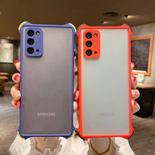 Load image into Gallery viewer, Samsung Cases Frosted Skin Feeling 4 Corner Shockproof Protective Cover for Galaxy S10 S20 S21 Ultra Note 20 Ultra S20FE
