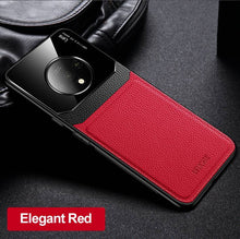 Load image into Gallery viewer, OnePlus Series Delicate Leather Glass Case Cover 6 6T 7 Pro 7T Pro 8 Pro Nord - yhsmall