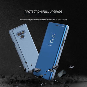 Flip Window Case Cover for Samsung Galaxy Note 9 8 5 S9 S8 Plus S7 S6 Edge - yhsmall