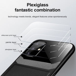 Samsung Series Cases Fashion Delicate Leather Glass Cover for Samsung Galaxy S20 S20Plus S20 Ultra Note 20 Ultra - yhsmall