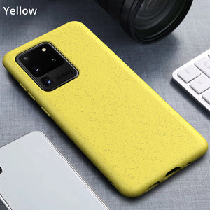 Samsung Wheat Graininess TPU Case Cover Series - yhsmall