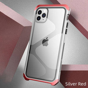 Apple iPhone Metal Glass Case Cover - yhsmall