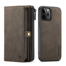 Load image into Gallery viewer, iPhone 12 Series Cases Multi-function Leather Protective Cover for Apple 7 8 SE 2020  X XS Max XR 11 12 Pro Max - yhsmall