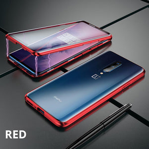OnePlus 7/7Pro Magnetic Double Side Tempered Glass Case Cover - yhsmall