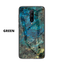 Load image into Gallery viewer, OnePlus Marble Pattern Tempered Glass Hard Case Cover - yhsmall