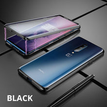 Load image into Gallery viewer, OnePlus Magnetic Double Side Tempered Glass Case Cover - yhsmall