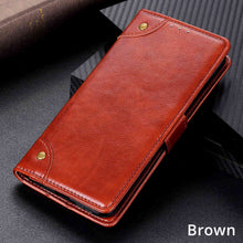 Load image into Gallery viewer, Samsung Cases Luxury Flip Business Leather Cover for Galaxy S10 S20 Plus Note 10 20 Pro - yhsmall