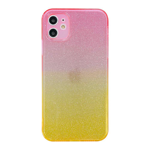 Apple iPhone Cases Gradient Glitter Soft TPU Protective Cover for iPhone 7 8 Plus SE 2020 X XS Max XR 11 12 Pro Max