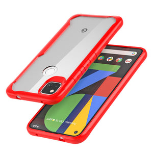 Google Pixel Cases Transparent Acrylic TPU Bumper Cover for Pixel 2 2XL 3 XL 3A XL 4 XL 4A 5G 5 - yhsmall