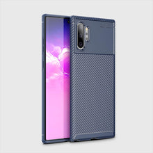 Load image into Gallery viewer, for Samsung Galaxy Note 10/Note10Plus Cases Soft TPU Carbon Fiber Pattern Cooling Cover - yhsmall
