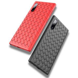 Samsung Galaxy Note 10 Plus Woven Cooling Breath TPU Case Cover - yhsmall