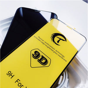 9D Full Coverage Tempered Glass Screen Protector for iPhone Series - yhsmall