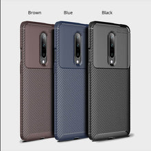 Load image into Gallery viewer, OnePlus Cases Carbon Fiber Pattern Soft TPU Protective Cover for OnePlus 6 6T 7 Pro 7T Pro 8 Pro Nord 8T - yhsmall