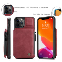 Load image into Gallery viewer, Apple iPhone 12 Mini Cases Multi-function Card Leather Protective Cover for Apple 7 8 SE X XS Max XR 11 12 Pro Max - yhsmall