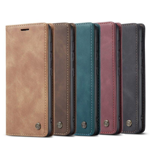 Samsung Mobile Phone Retro Leather Flip Window Case Cover - yhsmall