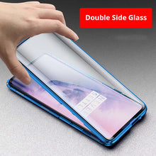 Load image into Gallery viewer, OnePlus 7/7Pro Magnetic Double Side Tempered Glass Case Cover - yhsmall