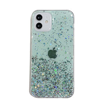 Load image into Gallery viewer, Silver Foil Apple iPhone Cases Solid Colors Soft TPU Protective Cover for iPhone 5 5S SE 2020 6 6S 7 8 Plus X XS Max XR 11 12 Pro Max