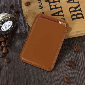 iPhone Leather Wallet with MagSafe - yhsmall
